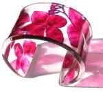 Sue Gregor - Pink Hydrangea Cuff