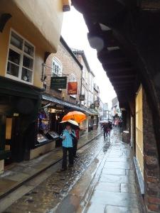 Rainy Street in York