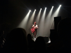 French Canadian singer-songwriter Melissa Laveaux playing live at Village Underground, London