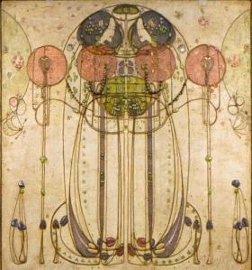 Charles Rennie Mackintosh Watercolour