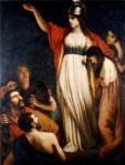 Queen Boudica by John Opie