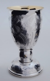 Royal Wedding Goblet for William and Kate by Rod Kelly