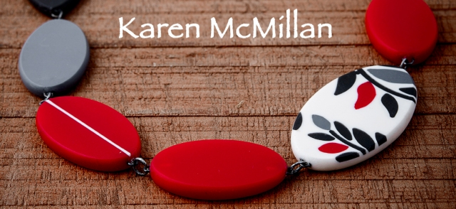 Karen McMillan Fern necklace, lovedazzleCoburg Art Studios by Marc Millar Photography