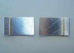naomi james rectangle_leaf_cufflinks