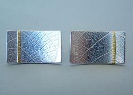 naomi james rectangle_leaf_cufflinks