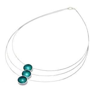kokkino-turq-3-pendant